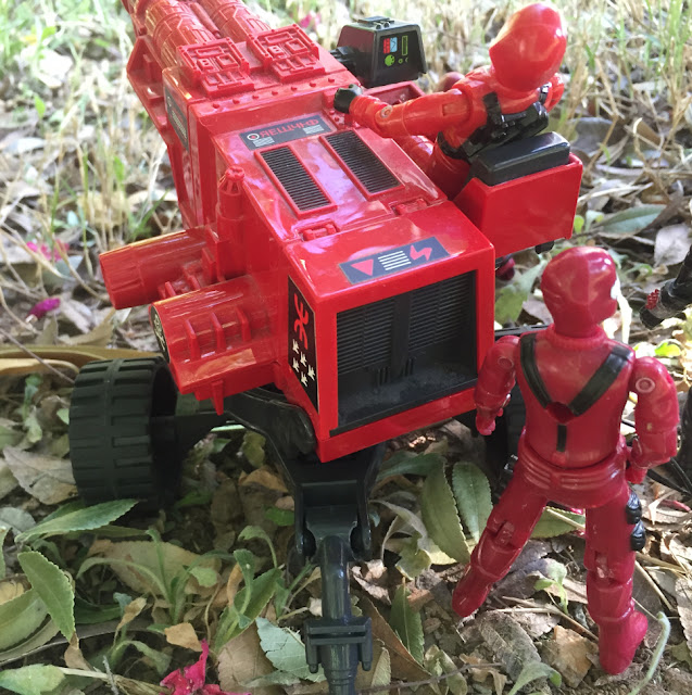 Laser Exterminator, Red Shadows, Action Force, Palitoy, Red Laser, Red Jackal, Black Major, Bootleg, Invasor