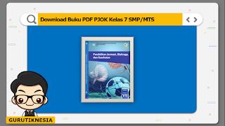 download ebook pdf buku digital pjok kelas 7 smp/mts