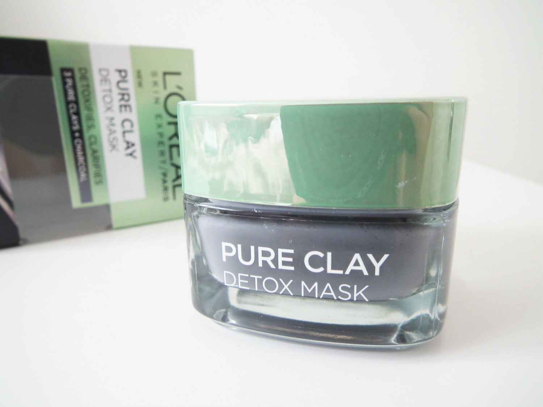L'Oreal Clay Mask - Detox Review