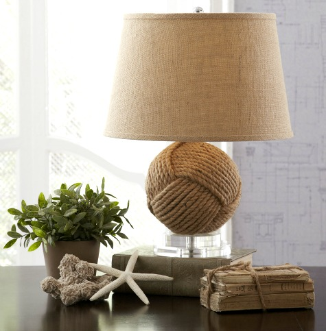 Rope Knot Lamp