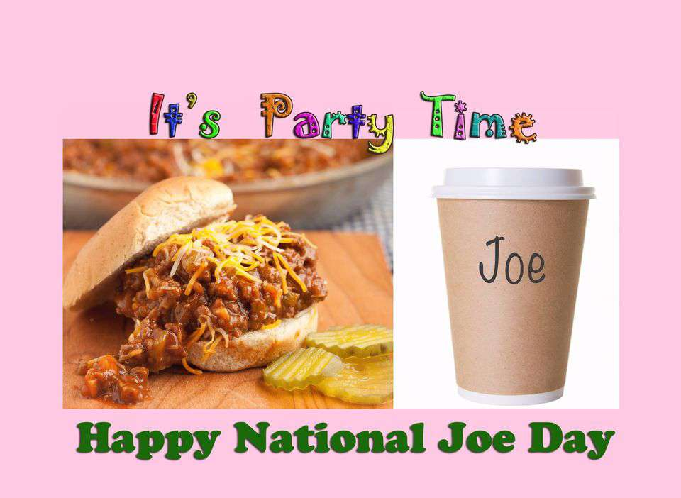 National Joe Day Wishes