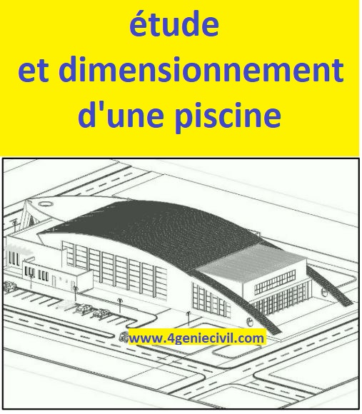 Tude et dimensionnement d 39 une piscine semi olympique cours g nie civil outils livres - Dimension d une piscine olympique ...