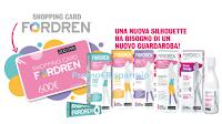 Logo Concorso ''Taglia la taglia con Fordren'': vinci 20 shopping Card Zuccari da 600€