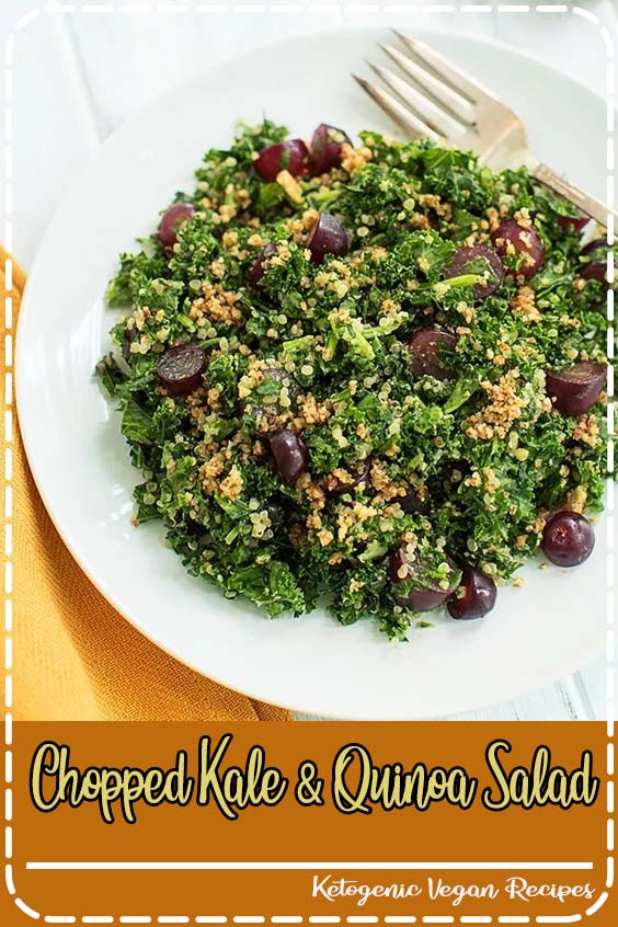 we had lunch at a place in Sausalito called The Trident  Chopped Kale & Quinoa Salad