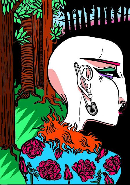 Pretty Punk - Digital Colouring