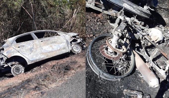 ACIDENTE FATAL - Duas pessoas morrem em colisão frontal na BR-316 em Caxias
