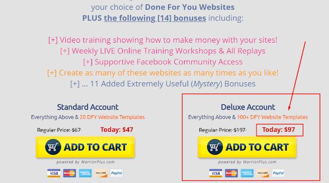 Jual DFY Hero Tools Membuat Unlimited Website Tanpa Domain dan Hosting