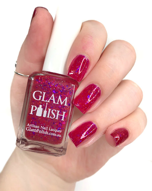 Glam Polish Bad Romance 25 Sweetpeas