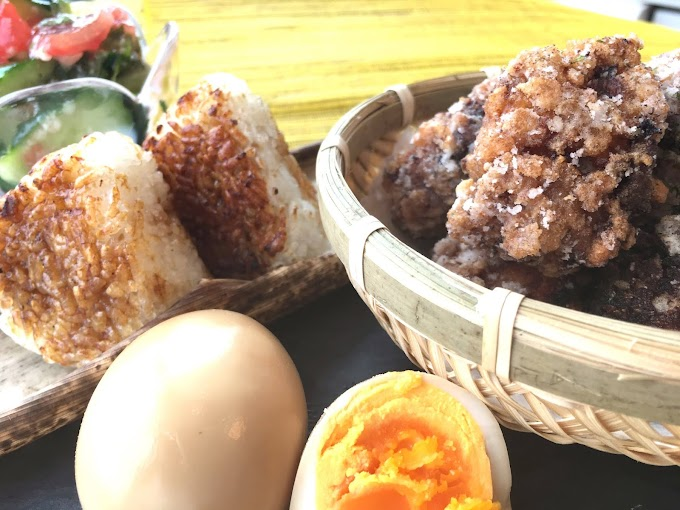 Karaage & Onigiri Rice Ball
