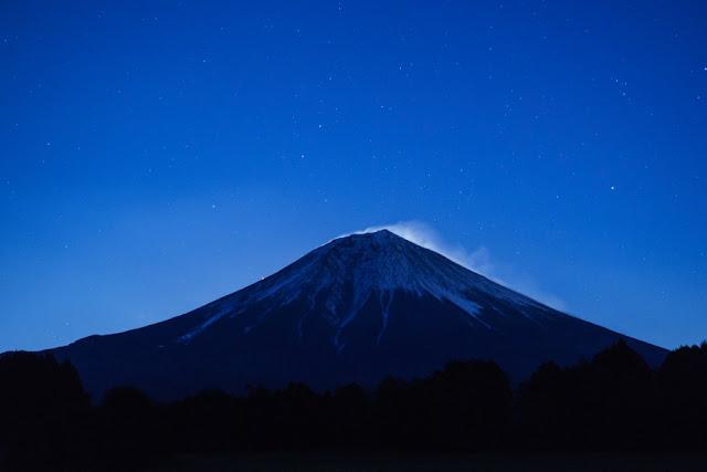 夜富士~朝霧高原(富士宮市上井出)
