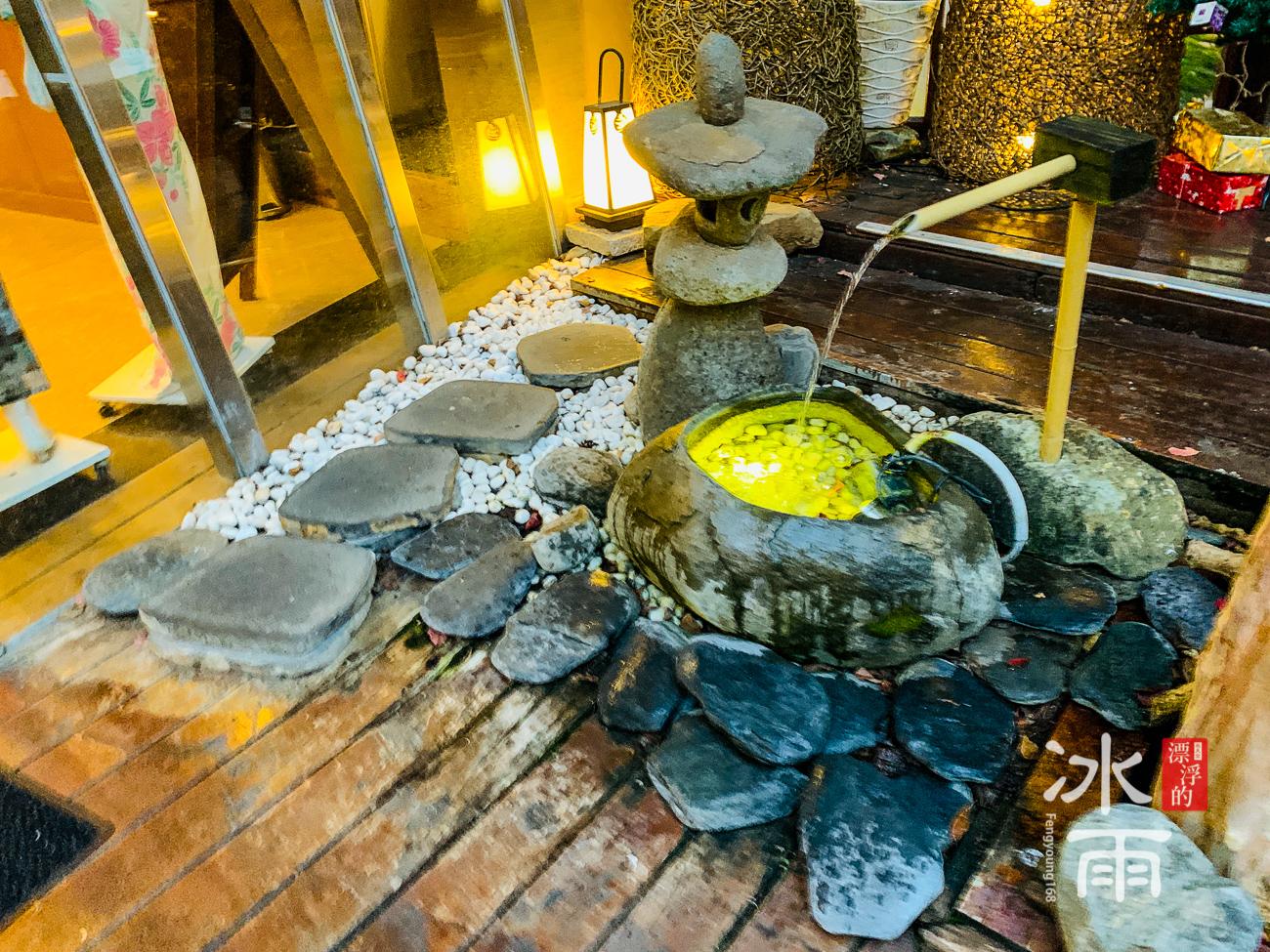 泰安湯悅溫泉會館|戶外風景一角