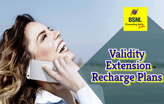 Latest BSNL Validity Extension Prepaid Mobile Recharge Plans with Unlimited Calls, Data and SMS benefits