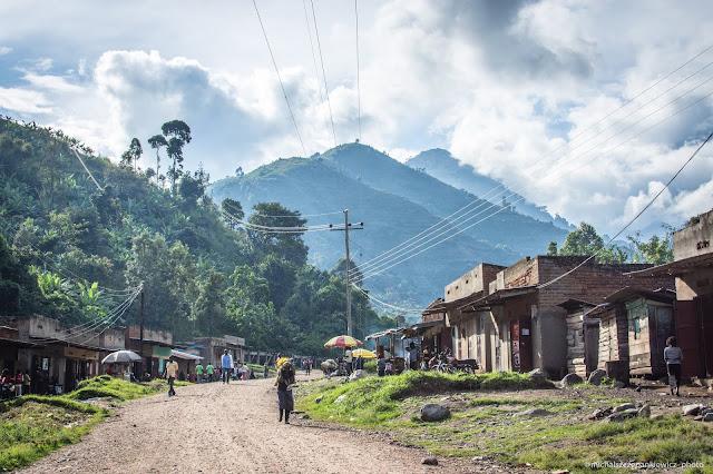 Wieś w Górach Ruwenzori