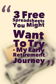 My Early Retirement Journey - tracking your spending