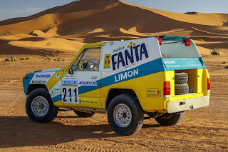 Nissan Patrol Paris-Dakar 1987 #211 Rear Side