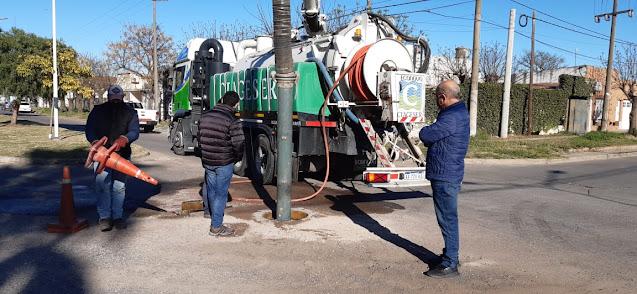 La municipalidad de Pehuajó invertirá 9.9 millones de pesos en la primera etapa de reparación de la red de cloacas de la ciudad