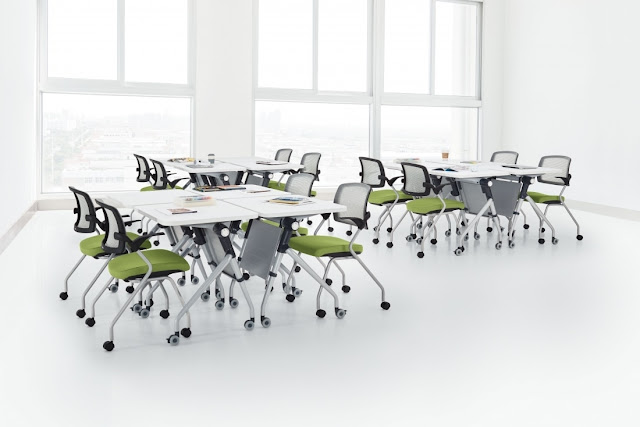 modern training room