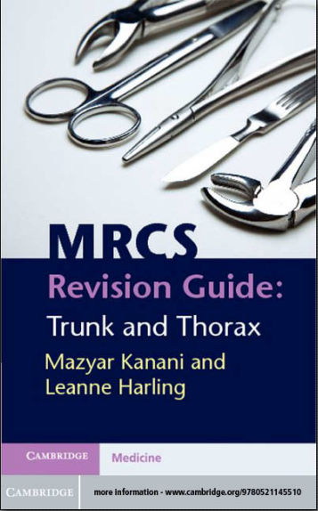MRCS Revision Guide - Trunk and Thorax, 1E (2012) [PDF]