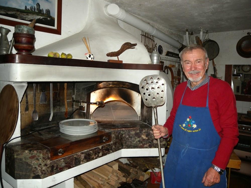 Fornocàrossa: forno a legna cà rossa strozza bg