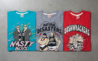 WWE '90s Tag Team T-Shirt Collection by Homage