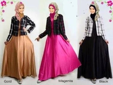 Baju remaja muslim untuk pesta