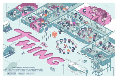 John Carpenter's The Thing Screen Print by 100% Soft x Mondo