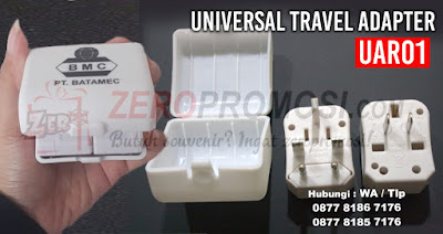 Universal Travel Adapter, Travel Adapter UAR01, TRAVEL ADAPTOR UAR01, Adaptor Promosi Universal Travel Adaptor UAR01