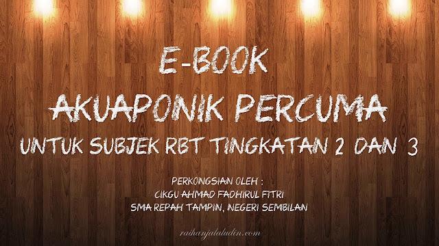 Ebook Akuaponik Percuma