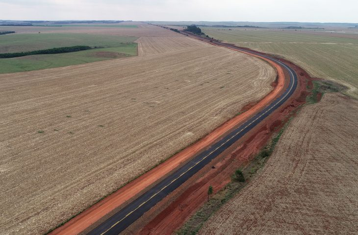 Rota Bioceânica - rodovias-tronco recebem pavimentação em MS