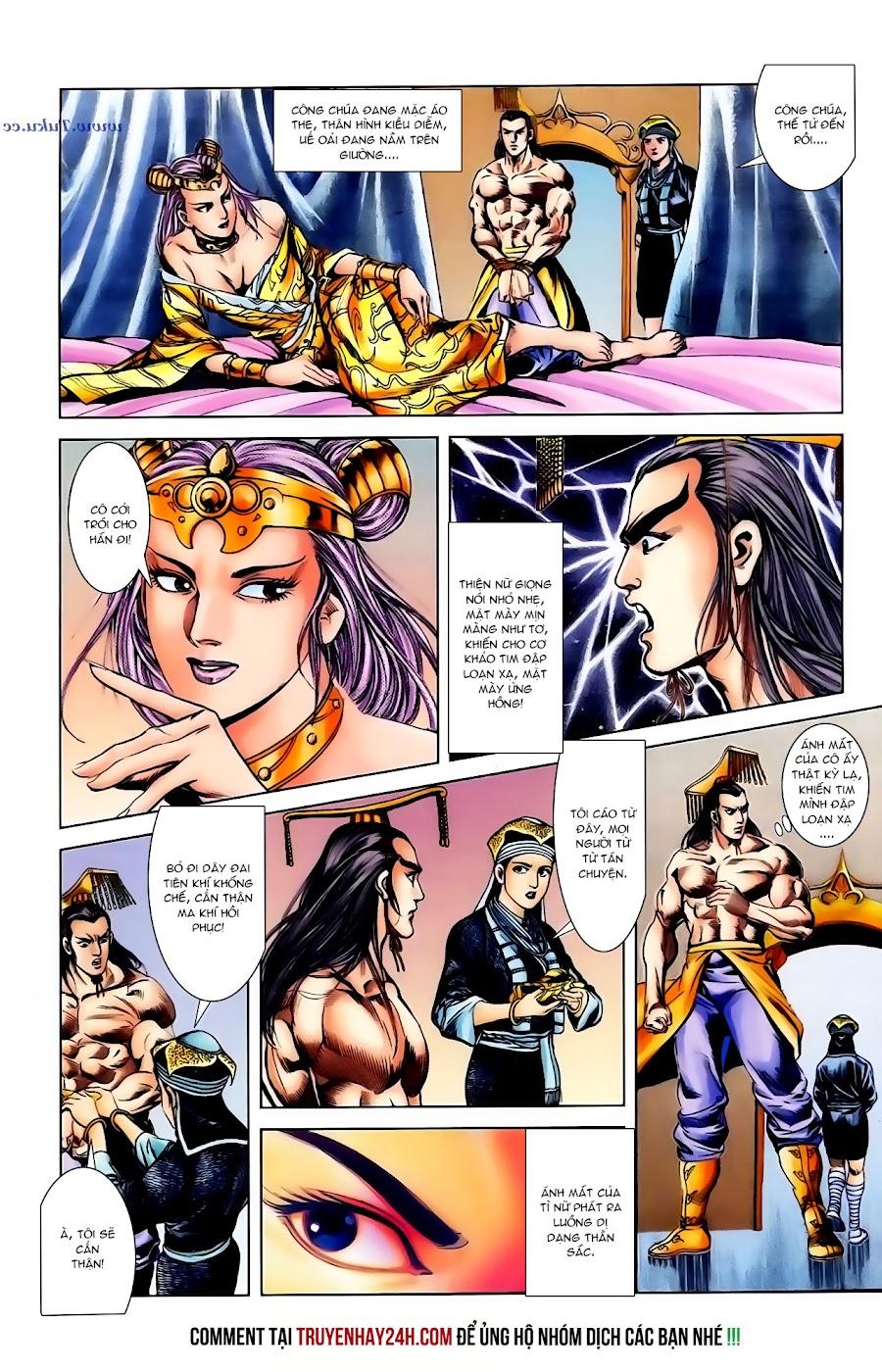 Cơ Phát Khai Chu Bản chapter 104 trang 13