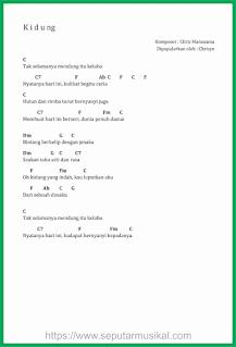chord lagu kidung chrisye