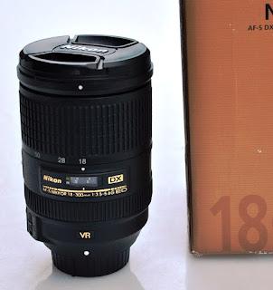 Jual Lensa Nikon 18-300mm VR bekas