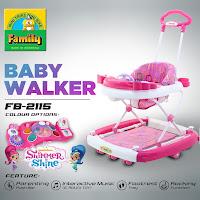 baby walker family shimmer shine