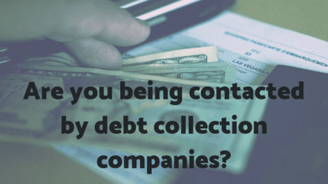 contacted by debt collection companies loan agencies how to respond owing money