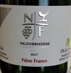 Notre vin de la semaine est ce très bon Prosecco Superiore !