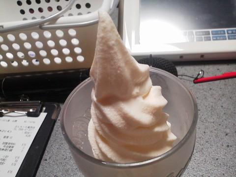 ソフトクリーム6 おんちっち尾西店2回目