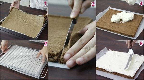 Cách làm Bánh khúc cây