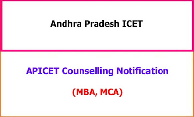 APICET Counselling Notification