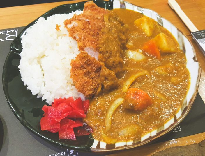 Katsu curry at Ryu Ramen and Curry