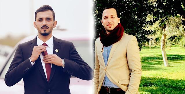 محمد العطين يهنئ الصديق الاعلامي محمد الحربي لخصوله على الدكتوراه