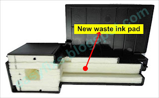 New waste ink pad