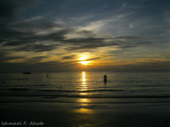Sunset in Koh Samet Island