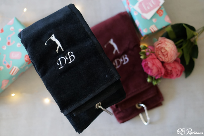 Personalised Golf Towels from crewEmbroidery
