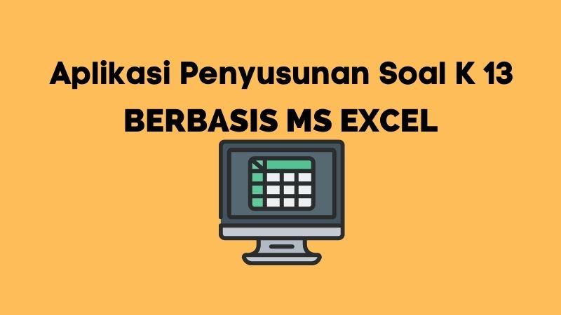 Aplikasi Penyusunan Soal Kurikulum 2013