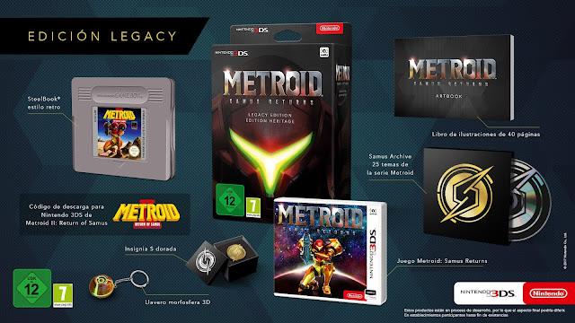 Metroid: Samus Returns (3DS) tem edição de colecionador europeia revelada