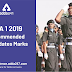 NDA 1 2019 Recommended Candidates Marks