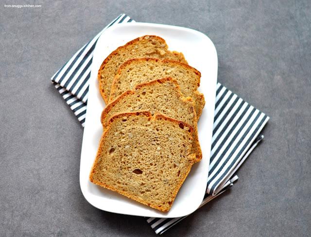 Synchronbacken #43 - Malzbier-No Knead Bread
