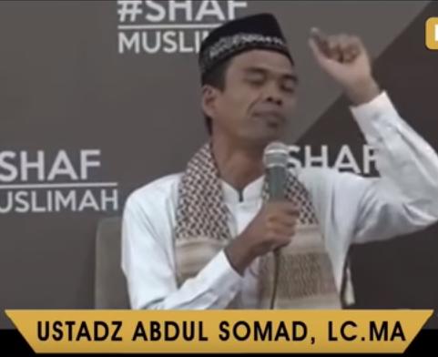 MasyaAllah, Inilah 3 Peran Wanita Dalam Dakwah Menurut Ustadz Abdul Somad!