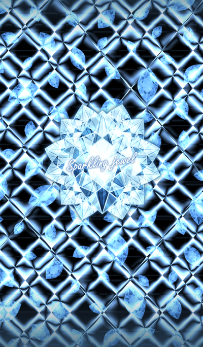 Sparkling jewel -Blue of adults-