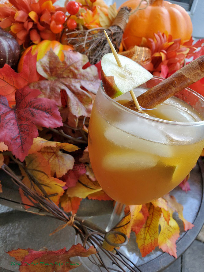 this is an apple cider drink that an adult version